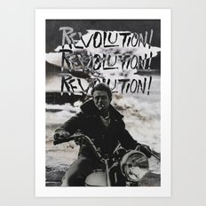 REVOLUTION! REVOLUTION! REVOLUTION! Art Print