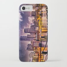 Skyline of Boston Harbor iPhone 7 Slim Case