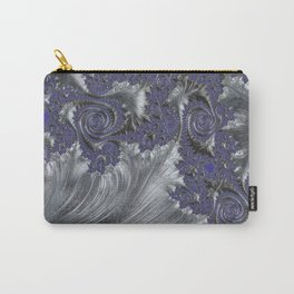 Silver Filigree Carry-All Pouch