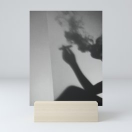 smoke screen Mini Art Print