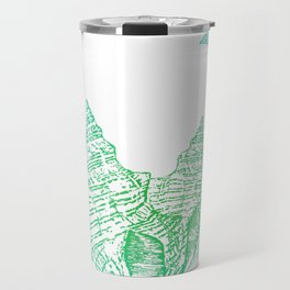 Shells Coloured Travel Mug