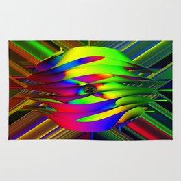 Einstein's Rainbow Rug