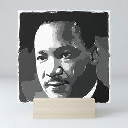 Martin Luther King Portrait Mini Art Print