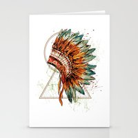 ethnic Stationery Cards featuring ethnic by limonlukusburnu