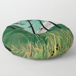 Cape Disappointment Floor Pillow