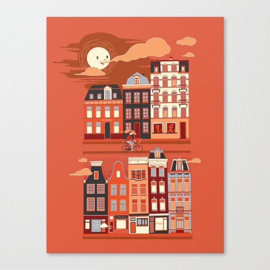 Amsterdam! Canvas Print