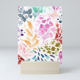 cornelia. watercolor florals. Mini Art Print