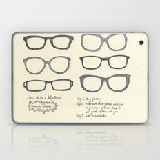 Hipsters Wear Frames, illustrated Laptop & iPad Skin