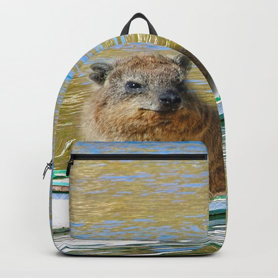 Rudolph at Sea Backpack