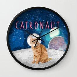 Catronaut Wall Clock