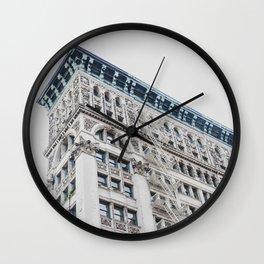 NY Architecture Wall Clock