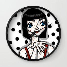 Poppy Pippi | Veronica Nagorny Wall Clock