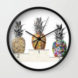 Top Pineapple 01 Wall Clock