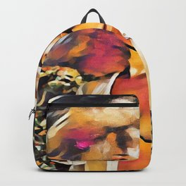 Afro Woman Backpack