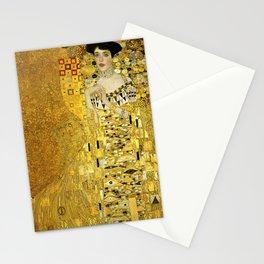 Portrait of A. Bloch-Bauer I by Gustav Klimt Stationery Cards