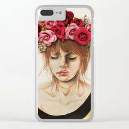 Rosario Clear iPhone Case