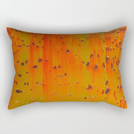 Bio-morphic Acid Wash Rectangular Pillow