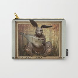 The March Hare Carry-All Pouch