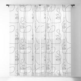 Chin Up Sheer Curtain