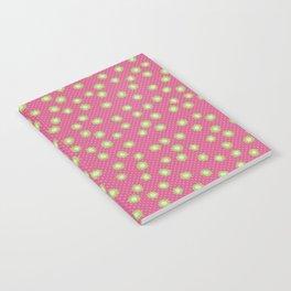 Pop Flowers florettes pink Notebook