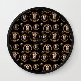 Elementalist LUX pattern Wall Clock