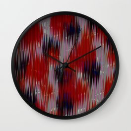 Surface Meltdown Wall Clock