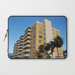 A yellow appartment building Laptop Sleeve