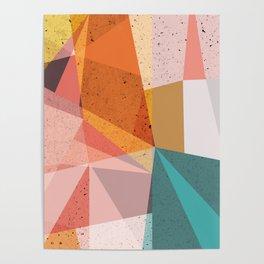 Modern Geometric 67 Poster