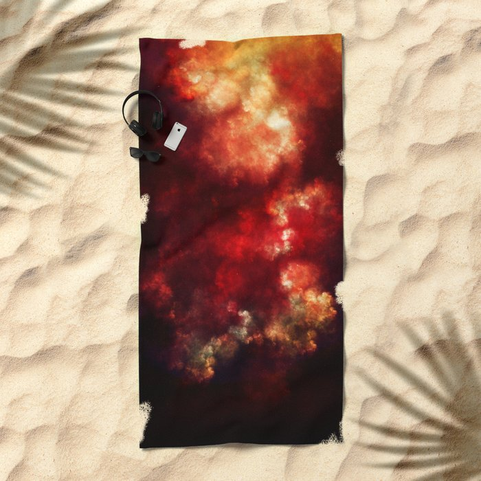 Space Beach Towel