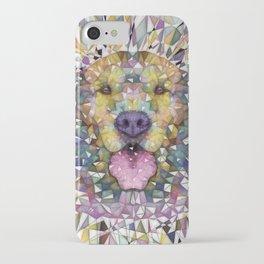 rainbow dog iPhone Case