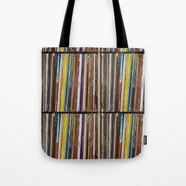 Vinyl Record Collection #1 - Casio CoPilot - Vancouver BC Tote Bag