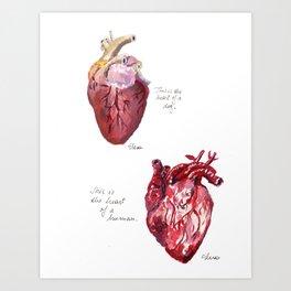 Heart of a Dog Art Print