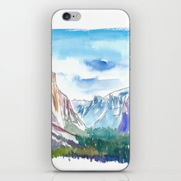 USA National Park Yosemite El Capitan iPhone Skin