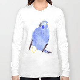 """Un oiseau entend..."" Book cover Long Sleeve T-shirt"
