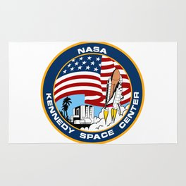 "The ""Public"" NASA KSC Patch Rug"