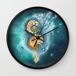 Step 1  Close your eyes - step 2 Make a Wish - step 3 Blow Wall Clock