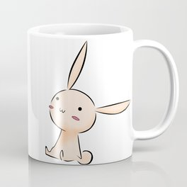 Interested Bunny Coffee Mug