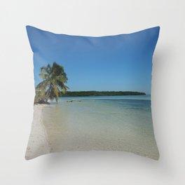 Florida Keys Welcome Gift Throw Pillow