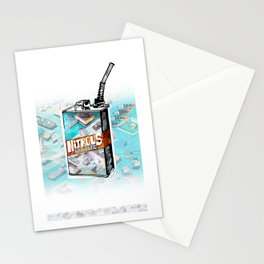 NITROUS OXIDE Stationery Cards