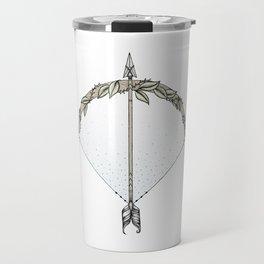 Bow and Arrow Travel Mug