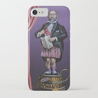 haunted mansion iPhone & iPod Cases featuring Haunted Mansion Portrait: Dynomite by Jonathan R. Lopez