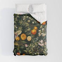 Vintage Fruit Pattern XXII Comforters