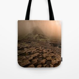 When the sun is going down Tote Bag