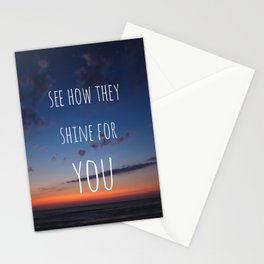 See how they Shine Stationery Cards