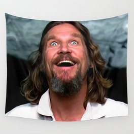 Jeff Bridges As The Dude Wall Tapestry