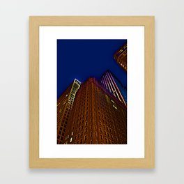 """""""And when you look up, look wide"""" Framed Art Print"""