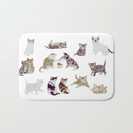 Little Kittens Bath Mat