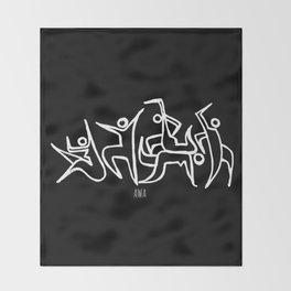 Fiesta ritual Throw Blanket