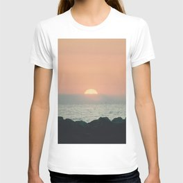 Sunset Ocean Bliss #2 #nature #art #society6 T-shirt