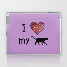 I Heart My Cat Laptop & iPad Skin